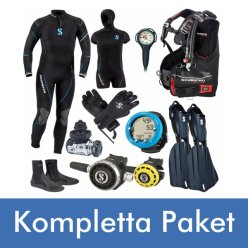 Kompletta dykutrustning paket från Diving 2000