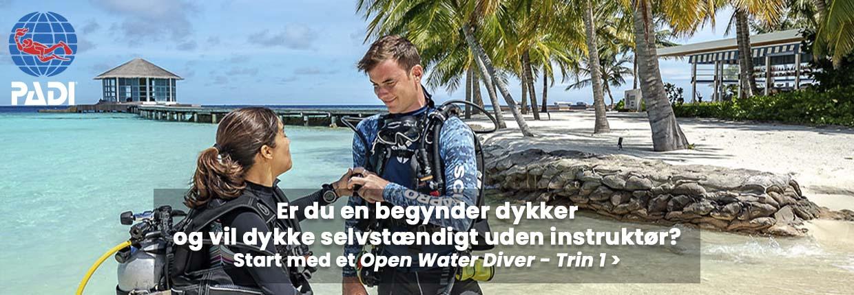 Dykkercertifikat - Open Water Diver Trin 1