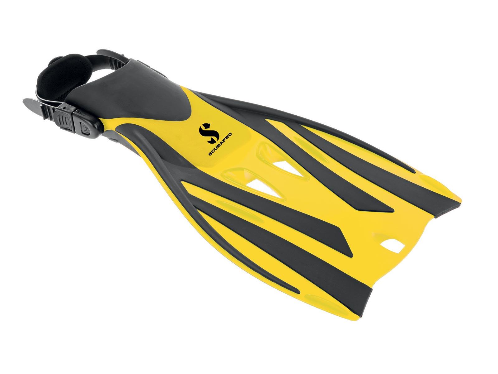 Billede af Scubapro, Svømmefødder til børn - Snorkel Plus 28-31 gul