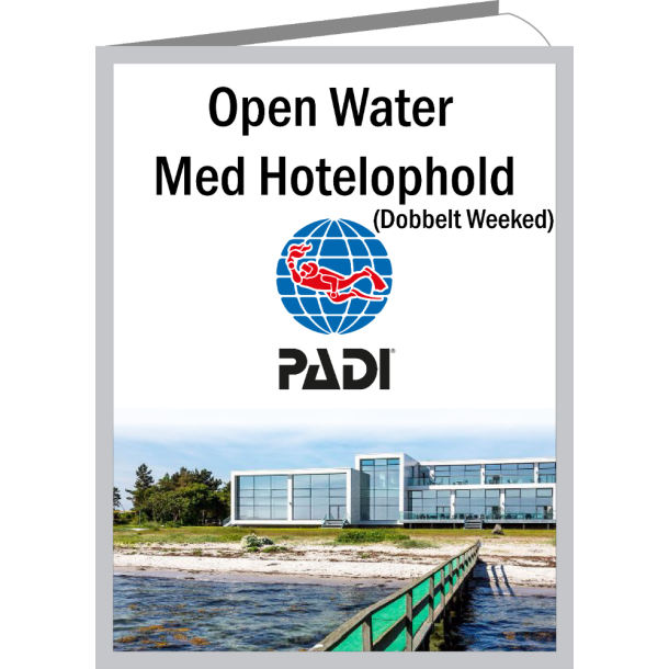 Open Water Dykkerkursus (Dobbeltweekend) inkl. Hotelophold