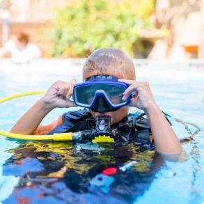 Dykkermasker til børn