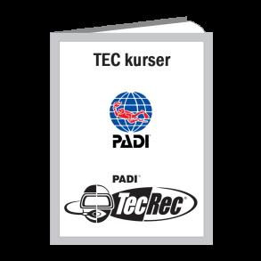 PADI TecRec kurser